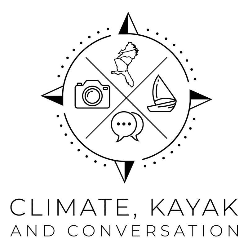 Climate, Kayak, and Conversation logo